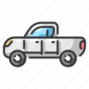 automobile, drive, pickupcar, speed, trucking, vehicle, wheel icon