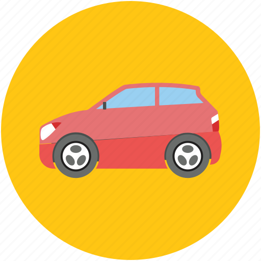automobile, car, family car, transport, vehicle icon