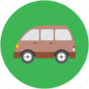 estate car, estate wagon, station wagon, transport, van, vehicle, wagon car icon