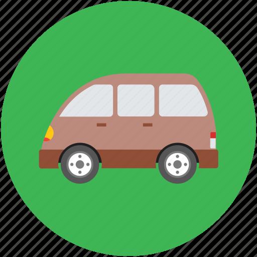 estate car, estate wagon, station wagon, transport, van, vehicle, wagon car icon