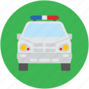 cops jeep, police jeep, police vehicle, security jeep, transport, vehicle icon