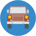 hunting car, hunting jeep, hunting vehicle, jeep icon