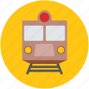 electric locomotive, electric train, modern tram, train, tram, transport, travel icon