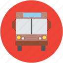 bus, public bus, school bus, transport, transport bus, vehicle icon