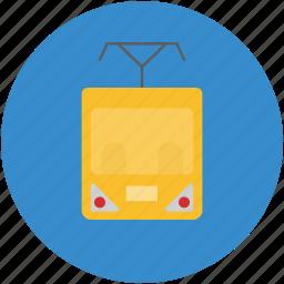 cortege, train, train engine, transport, underground train icon