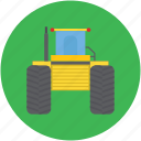 construction, machinery, transportation, trucks, vehicle icon