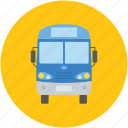 bus, public bus, school bus, tata venture, transport bus icon