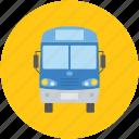 bus, public bus, school bus, tata venture, transport bus icon