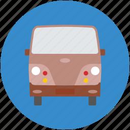 cargo, delivery, delivery bus, tata venture, van icon
