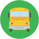 automobile, bus, cargo, delivery van, shipping truck, van icon
