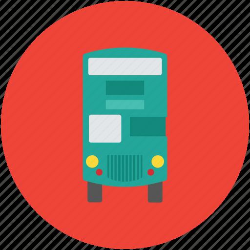 auto bus, bus, coach, motor bus, passenger bus, tour bus, transport icon