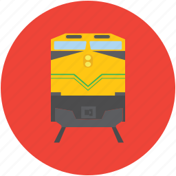 diesel engine, locomotive, swiss train, train engine icon