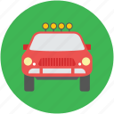 automobile, car, police car, transport, vehicle, vigo car icon