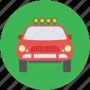 automobile, car, police car, transport, vehicle, vigo car icon