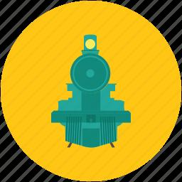 diesel engine, locomotive, swiss train, train engine icon
