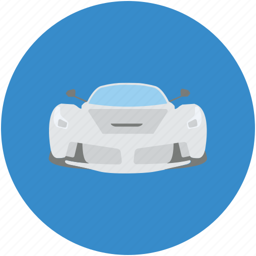 automobile, automotive, car, ferrari, hatchback, luxury car icon