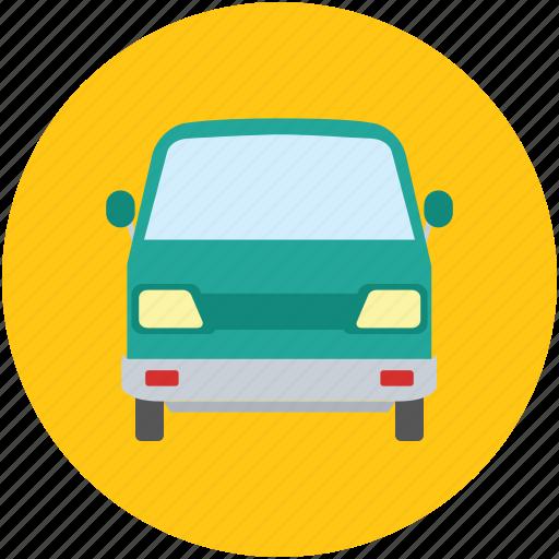 mini pickup, pickup, tata venture, transport, van, vehicle, wagon icon