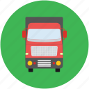 delivery truck, lorry, shipping van, transport, truck