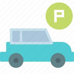car, parking, personal, vehicle icon