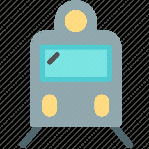 public, train, transport icon