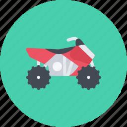 atv, car, logistics, machine, transport, transportation icon