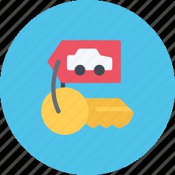 car, keys, logistics, machine, transport, transportation icon
