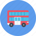 car, decker, double, logistics, machine, transport, transportation icon