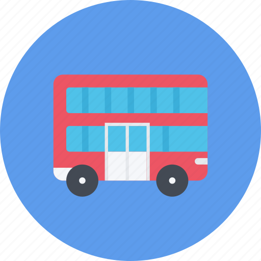 car, decker, double, logistics, machine, transport, transportation icon