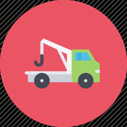 car, evacuator, logistics, machine, transport, transportation icon