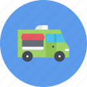car, food, logistics, machine, transport, transportation, truck icon