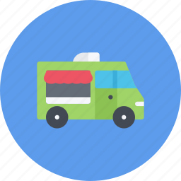 car, food, logistics, machine, transport, transportation, truck icon