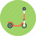 car, kick, logistics, machine, scooter, transport, transportation icon