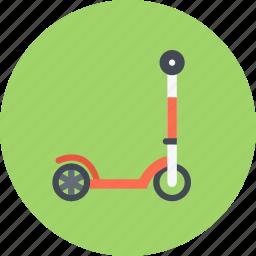 car, kick, logistics, machine, scooter, transport, transportation icon