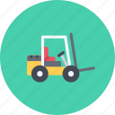 car, lifttruck, logistics, machine, transport, transportation icon