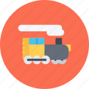 car, locomotive, logistics, machine, transport, transportation icon