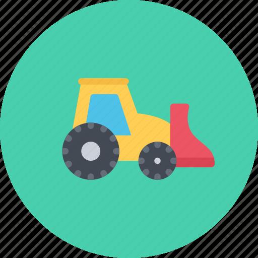 car, loader, logistics, machine, mini, transport, transportation icon