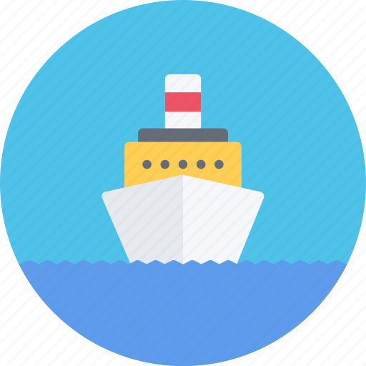 car, logistics, machine, motor, ship, transport, transportation icon