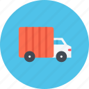 car, logistics, machine, transport, transportation, truck icon