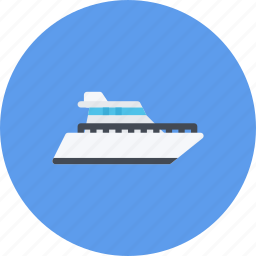 car, logistics, machine, transport, transportation, yacht icon