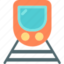 moderntrain, railroad, transport icon