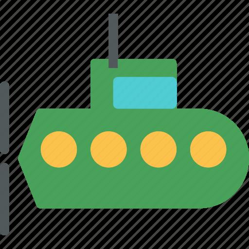 army, heavy, submarine, underwater, war, weapon icon