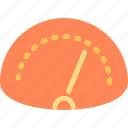 car, road, speed, speedometer icon