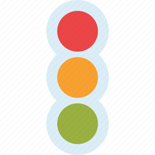 cars, city, road, stoplights icon