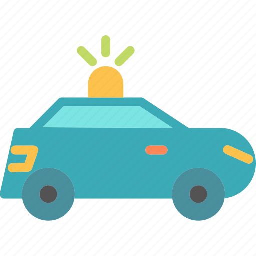 car, police, transport, travel, vehicle icon