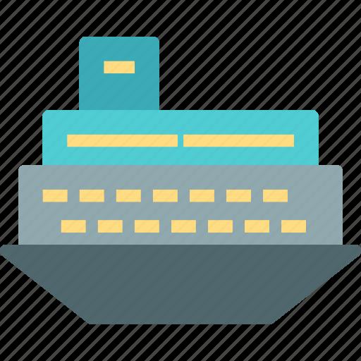 car, ship, transport, travel, vehicle icon