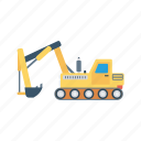 construction, crane, hook, lifter, vehicle icon