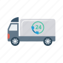 automobile, delivery, transport, travel, vehicle icon