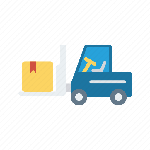 crane, delivery, forklift, lifter, vehicle icon
