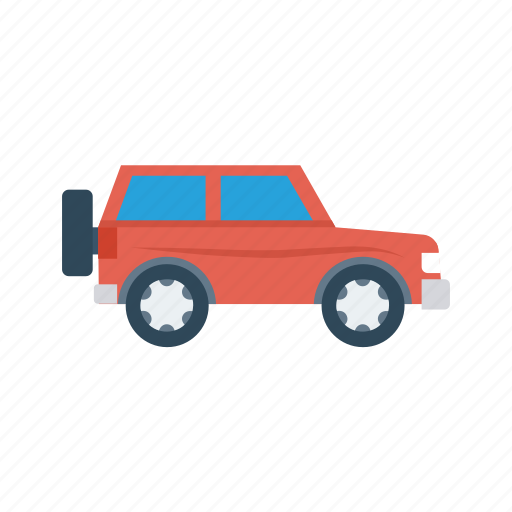 car, jeep, transport, travel, vehicle icon