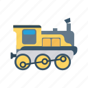 rail, station, train, transport, travel icon